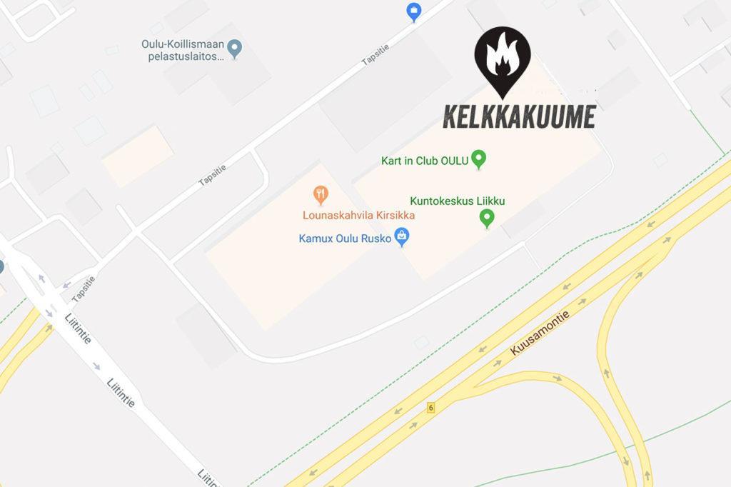Opaskartta Kadut Kartat Ja Liikenne Oulun Kaupunki