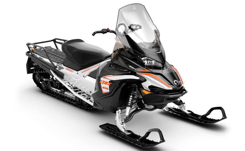 Lynx Ranger 49 600 ACE vuosimalli 2021, väri Full Moon Silver, Orange, Black
