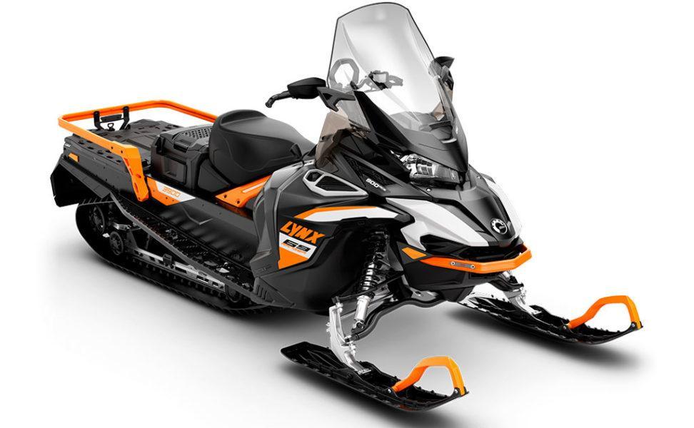 Hyötykelkka Lynx 69 Ranger 900 ACE vuosimalli 2021, White, Orange, Black
