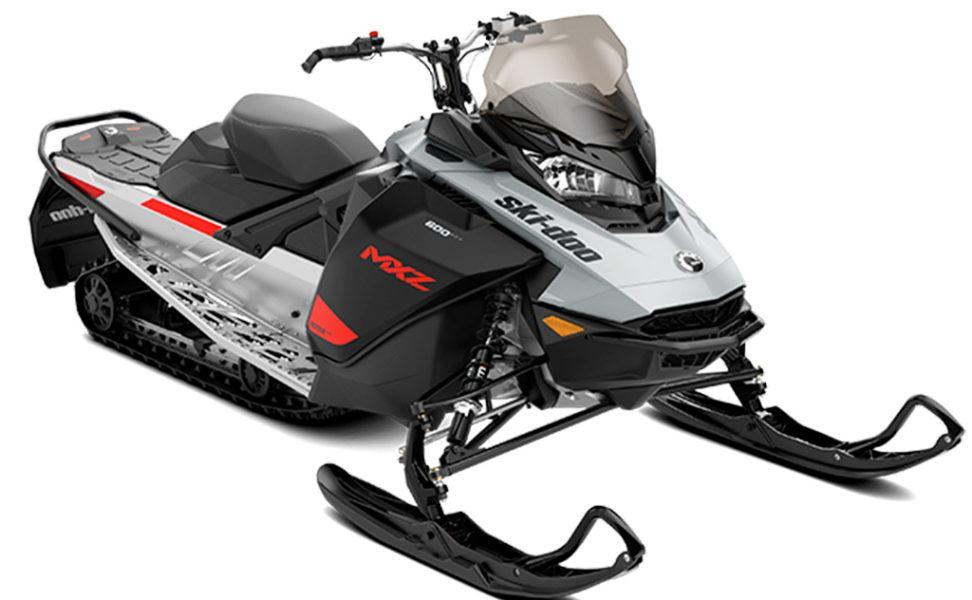 Ski-Doo MXZ Sport 600 EFI vuosimalli 2021, väri Catalyst Grey, Catalyst Grey, Bare