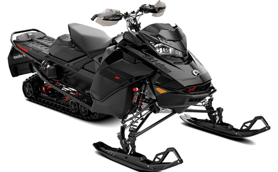 Ski-Doo Renegade XRS 850 E-TEC vuosimalli 2021, väri Black