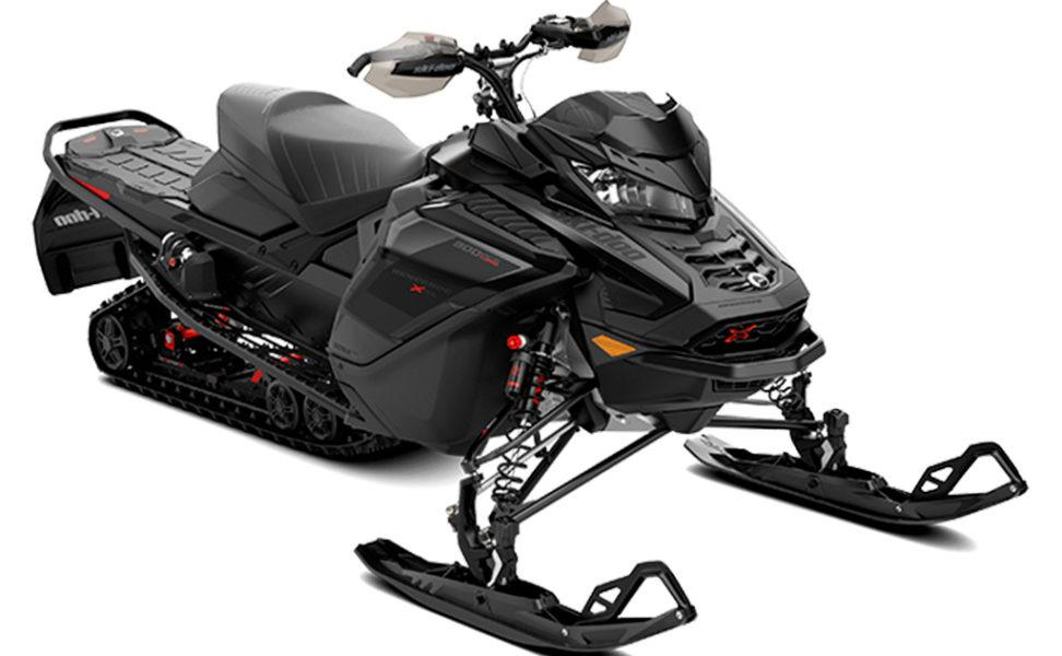 Ski-Doo Renegade XRS 900 ACE turbo moottorikelkka vuosimalli 2021, väri Black