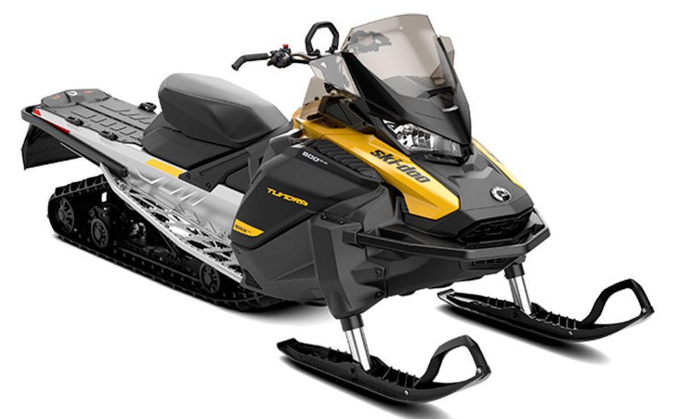 Työkelkka Ski-Doo Tundra LT vuosimalli 2021, väri Yellow Black